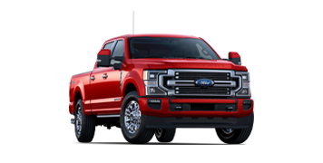 2020 Ford Super Duty F 3 50 Limited Shown in Rapid Red