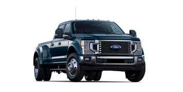 2020 Ford Super Duty F 4 50 LARIAT Shown in Blue Jeans