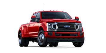 2020 Ford Super Duty F 4 50 Limited Shown in Rapid Red