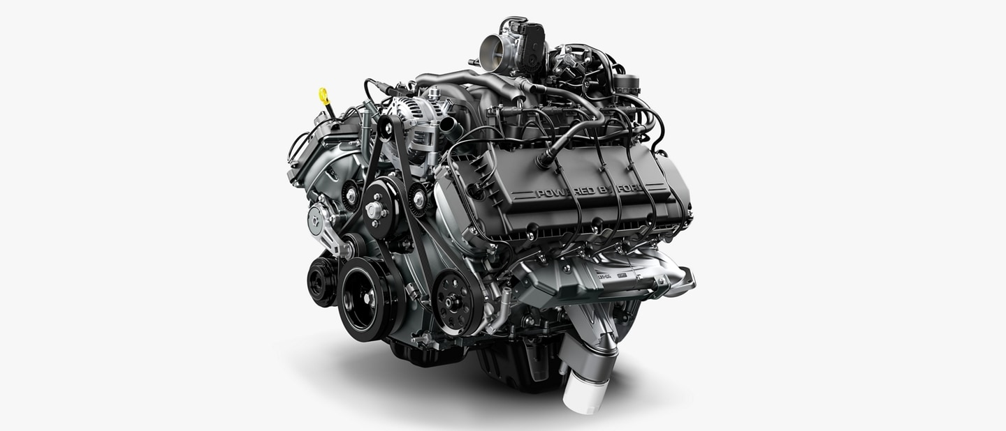 6 point 2 litre gas V8 engine